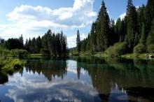 クラマス湖に流れる神秘的な聖なる川